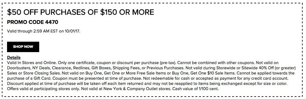 New York and Company Coupons - Printable Coupons In Store & Coupon ...