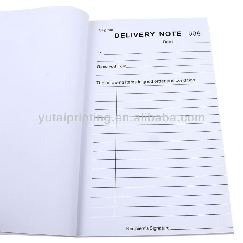 Yiwu China Sample Delivery Order Form Samples - Buy Sales Order ...