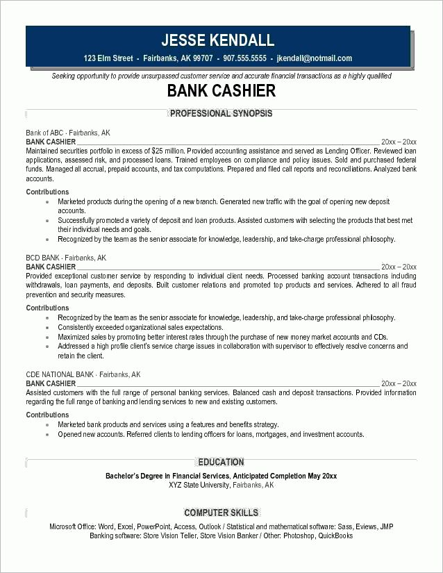 5 associates degree resume sample cashier resumes. resume sample ...