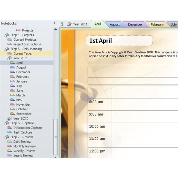 12 best onenote templates images on Pinterest | Computer tips ...