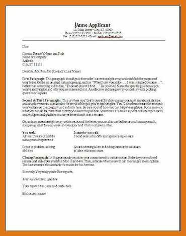 examples of cover letter heading formatting your cover letter ...