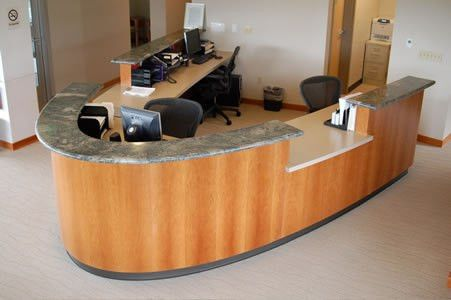 Commercial Fixtures- Ashland Surgical Front Desk