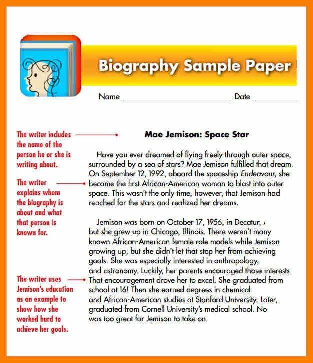 10+ student biography sample   hostess resume