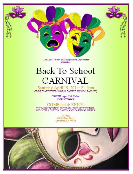 20 Free Carnival Flyer Templates - Demplates