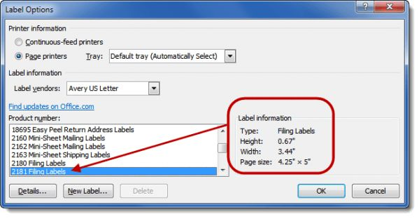 Printing Envelopes and Labels, Part 2: Labels | Legal Office Guru