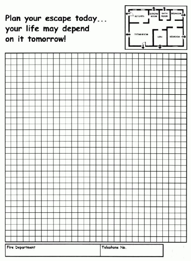 57 Home Fire Escape Plan, Fire Escape Plans At Home On How To Make ...