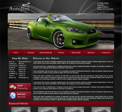 Free Dealer Website Templates