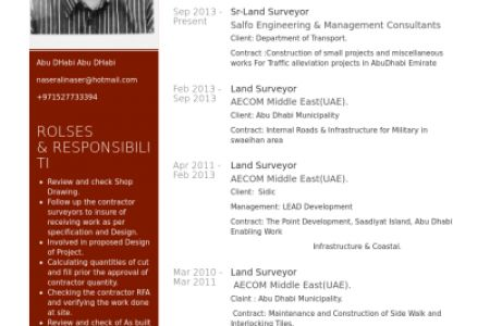 Land Surveyer For Resume Format Examples - Reentrycorps