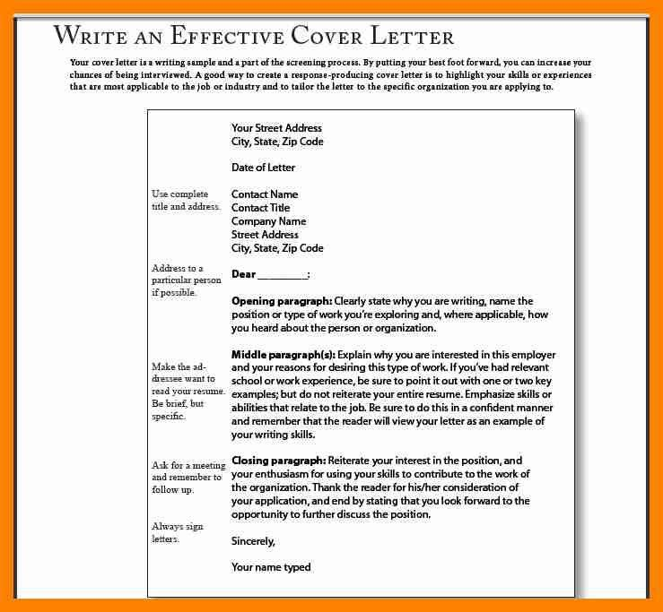 Best Cover Letter Opening