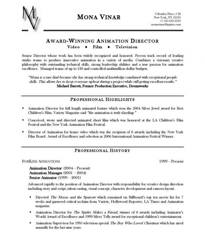 Accomplishments On Resume – Resume Examples