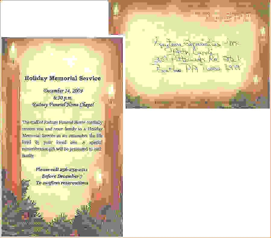 11 Funeral Invitation TemplateAgenda Template Sample | Agenda ...