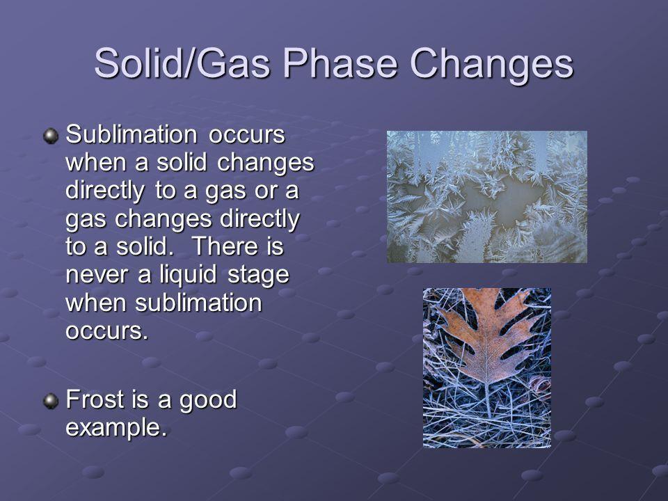 Phase Changes Melting, Freezing, Vaporization, Condensation ...