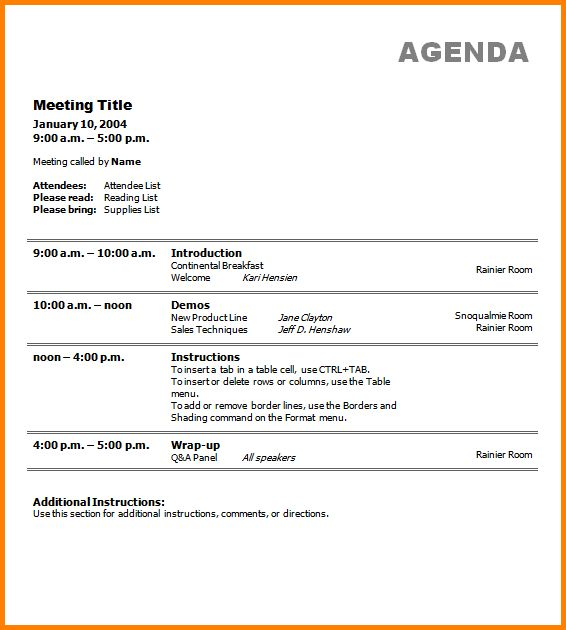 Business Meeting Agendas.Business Meeting Agenda Template.png ...