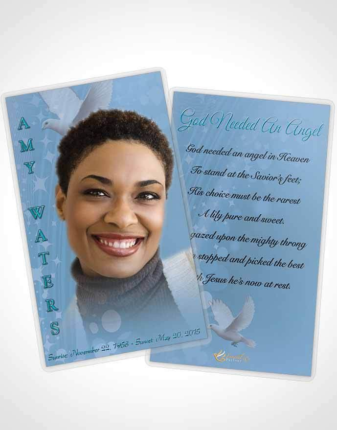 Prayer Card Template Free Spirit Morning Calm