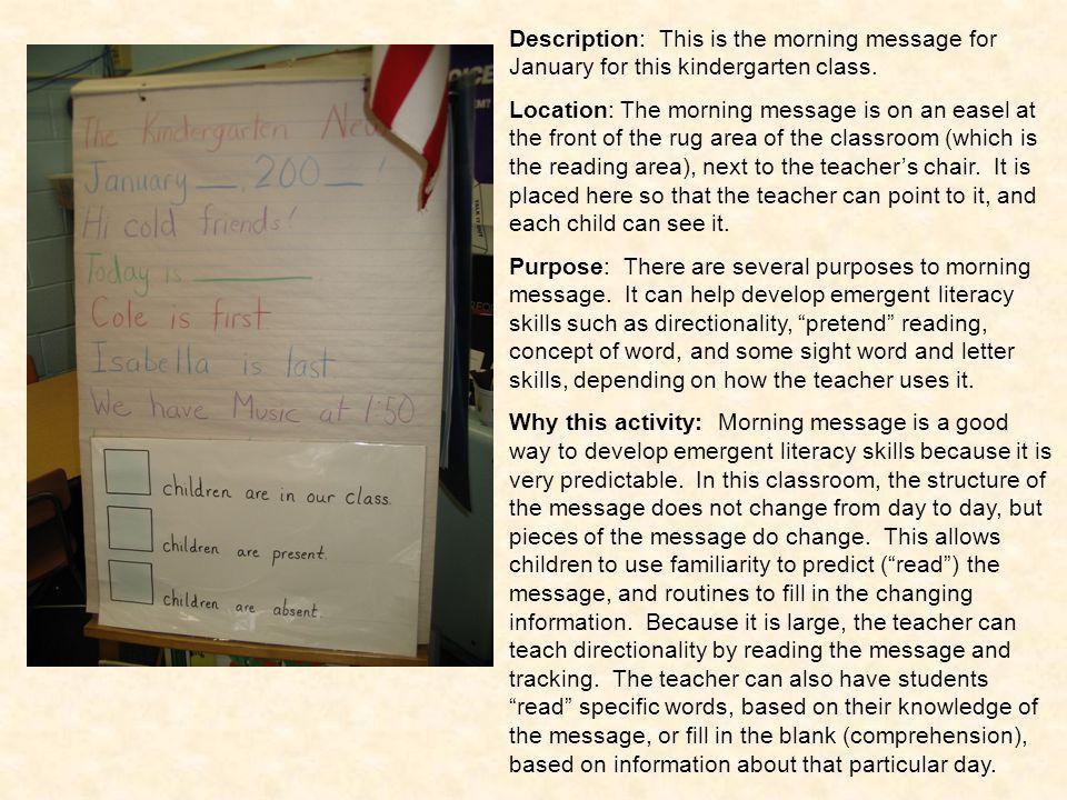 Literacy Photo Journal Kindergarten - ppt download