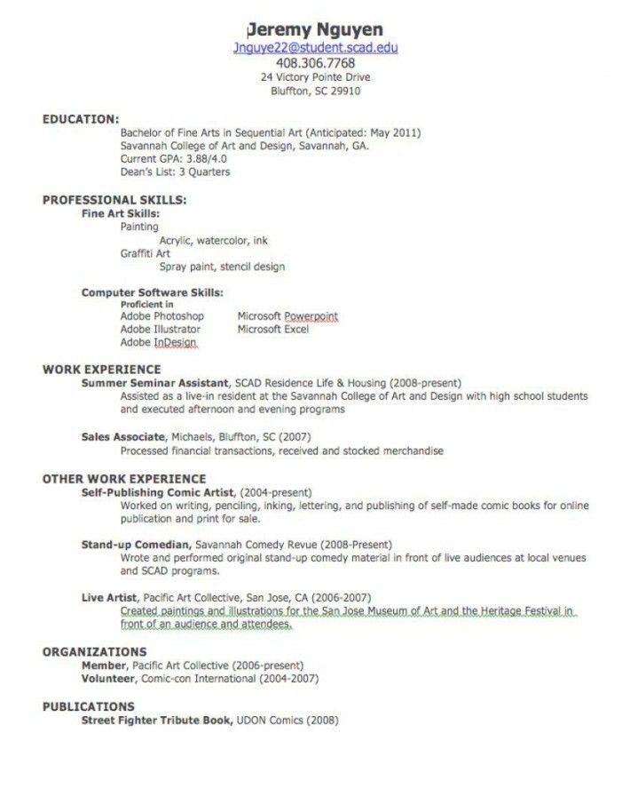 Create A Resume For Job | Resume Examples 2017