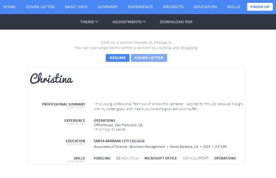 6 Free Resume Builder Tools to Help Revamp Your Resume — OfficeNinjas