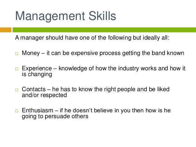 How To Become An Artist Manager] How To Become An Effective Artist ...