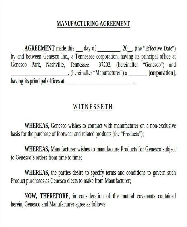 Supply Agreement Contract. Procurement   Logistics Operational .
