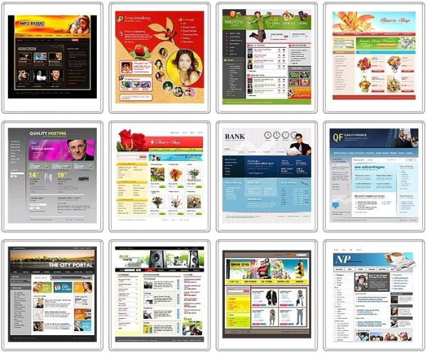 Website Templates ($499) - Software Projects Inc.