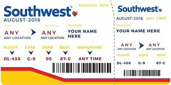 "Southwest ""Win Vacation"" 2500 Ticket Giveaway is a Scam"