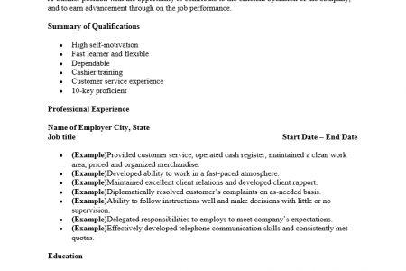 Sample resume media specialist