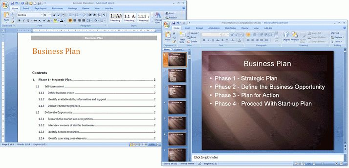 business presentation template word presentation template for word ...