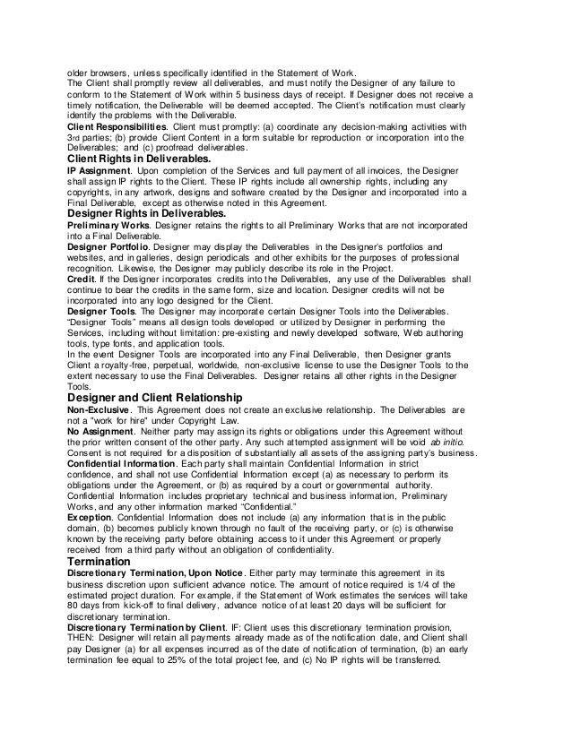 Web Design Agreement Template - Corpedo.com