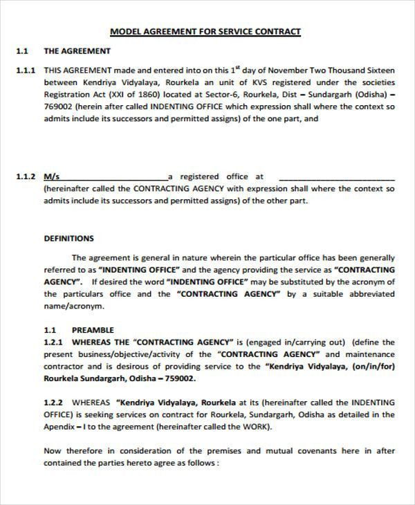 35+ Agreement Templates | Free & Premium Templates