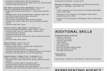 top 8 youth basketball coach resume samples in this file you can ...