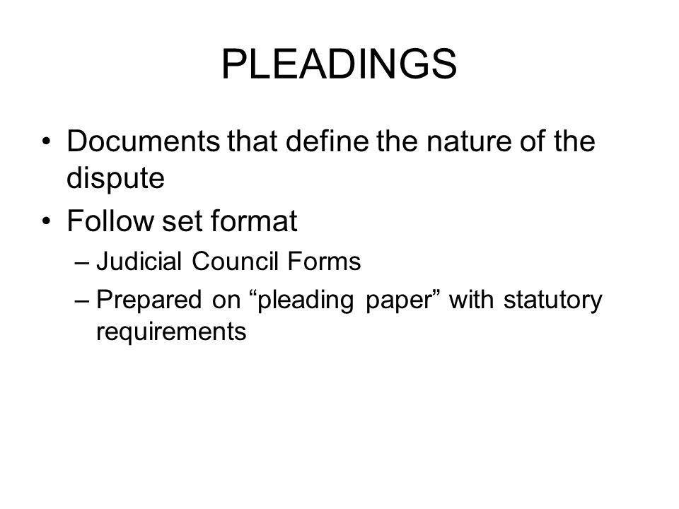 March 4, 2011 Civil Procedure. - ppt download