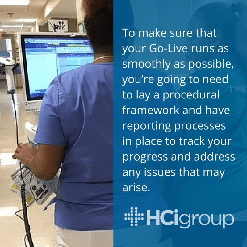 EHR Implementation Blog | The HCI Group | Go-Live Support