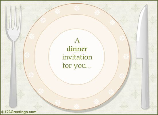 23 best Food invitations images on Pinterest | Invitation ...