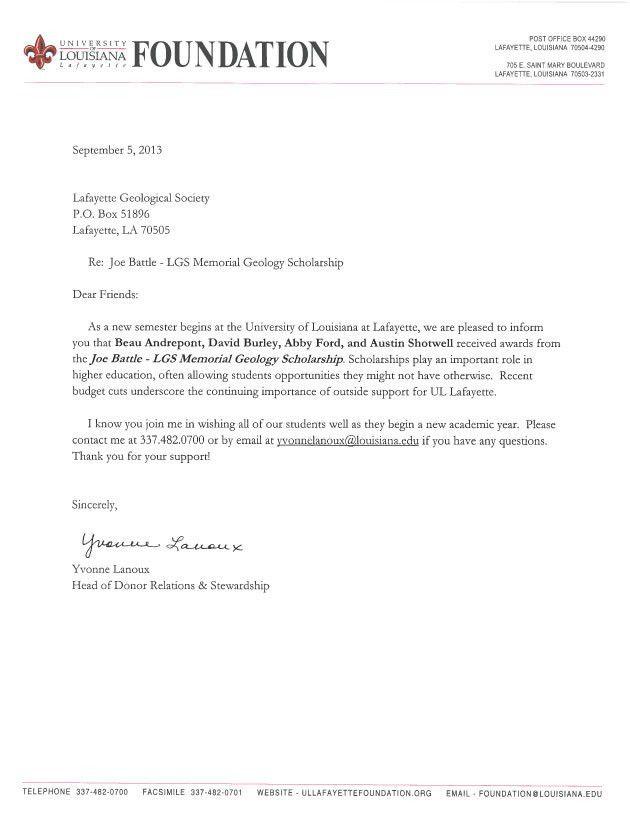 Scholarships « lafayettegeologicalsociety.org