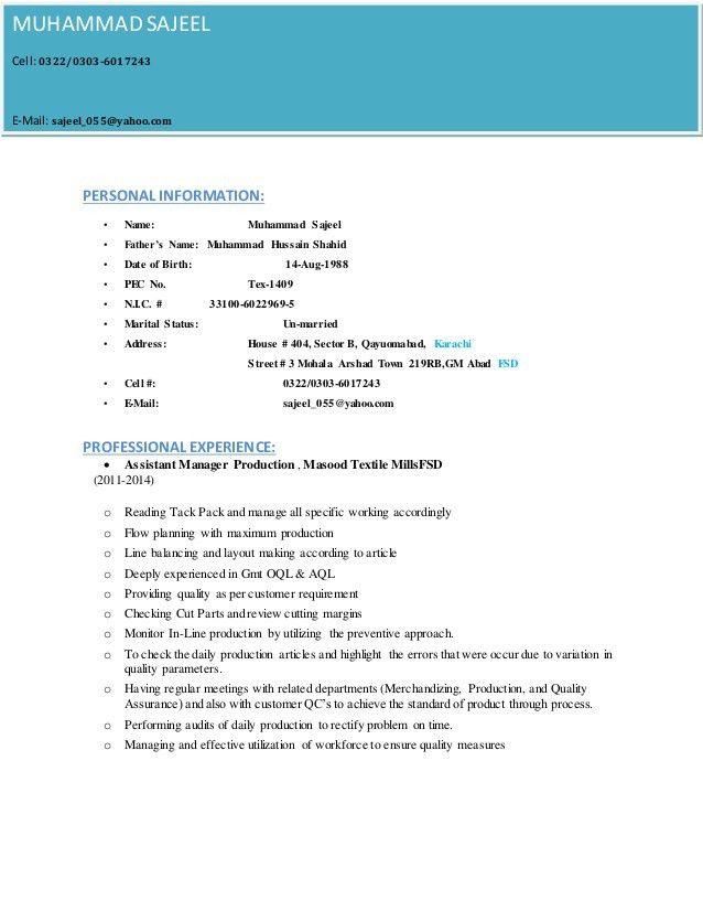 M.SAJEEL Resume + Cover letter (1)