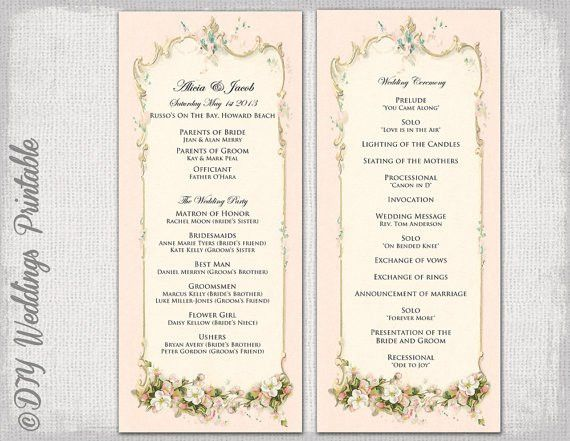 Template Order Of Service. the other side of funerals making an ...