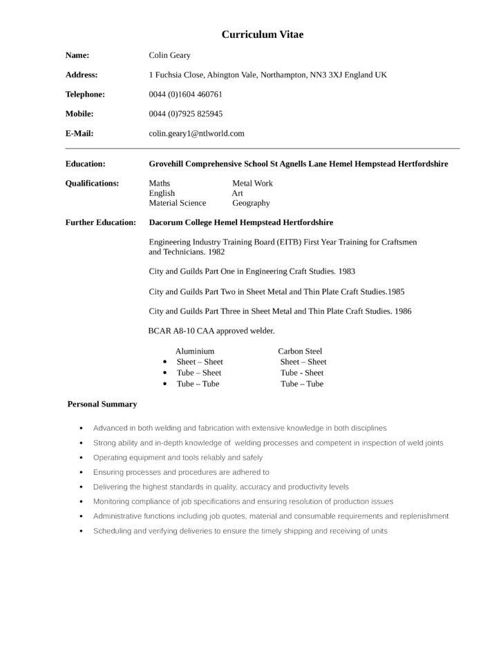 welder resume examples unforgettable welder resume examples to