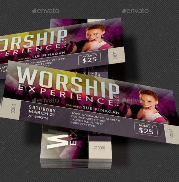 21+ Concert Ticket Designs - PSD, Vector Download