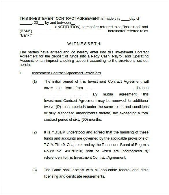 Compensation Agreement Template - Invitation Template