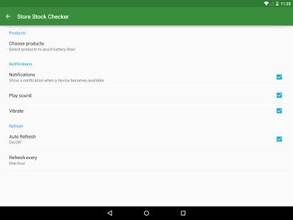Store Stock Checker - Android Apps on Google Play