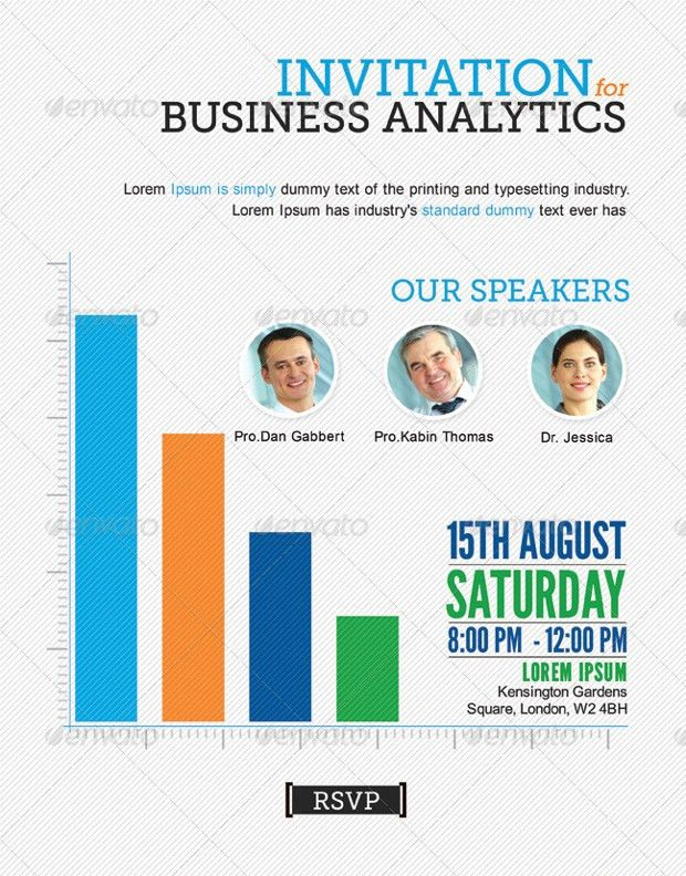 15+ Business Invitation Templates - Printable PSD, AI, Vector EPS ...