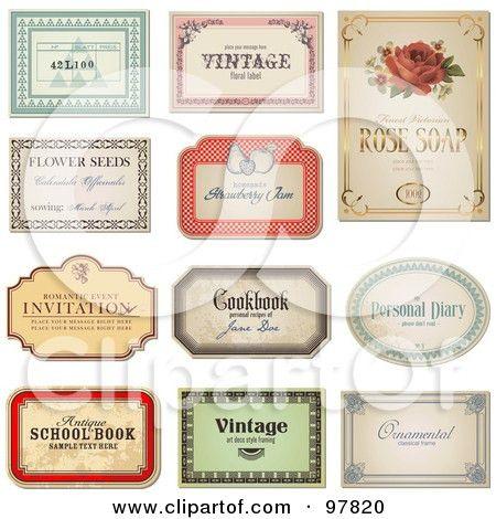 Free Printable Label Designs: Label template free diy water bottle ...
