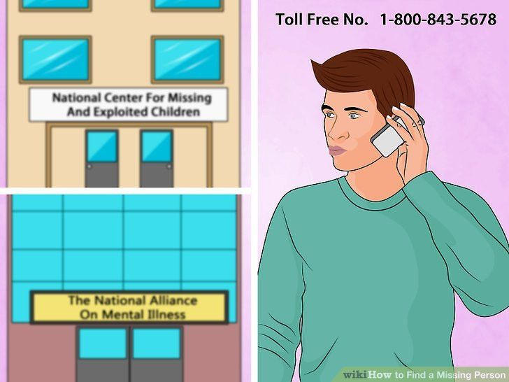 How to Find a Missing Person: 13 Steps (with Pictures) - wikiHow
