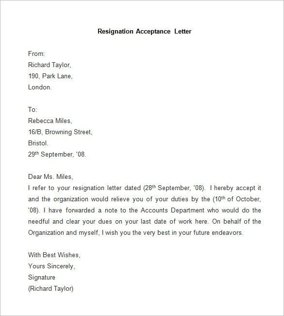 wiregrassedu the 2 weeks resignation letter simple template is a ...