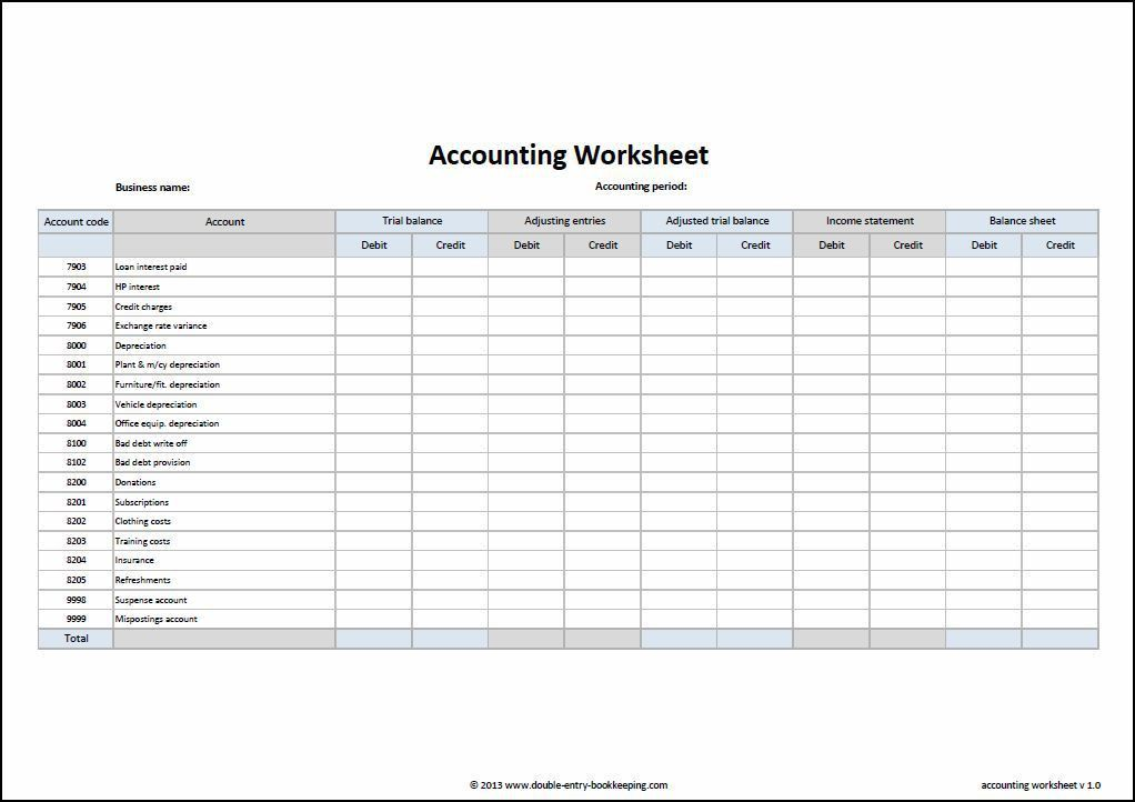 Accounting Journal Template Accounting Spreadsheet Templates ...
