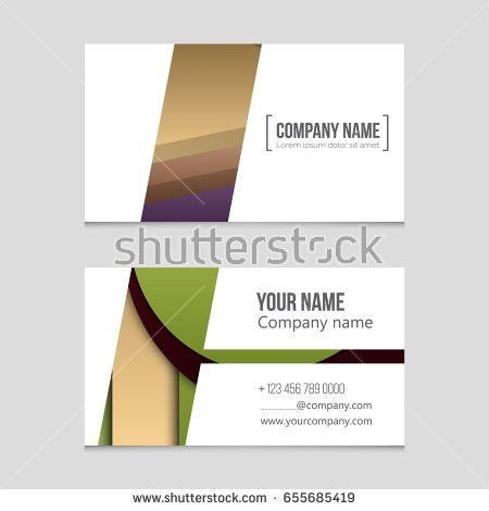 Abstract Vector Layout Background Set Art Stock Vector 618188525 ...