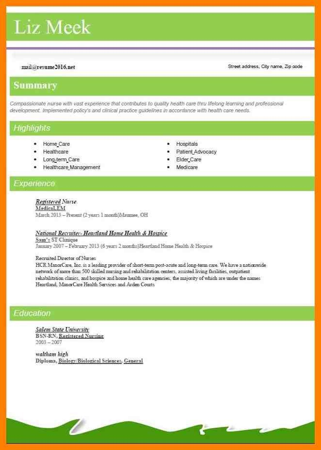 9+ new resume styles | childcare resume