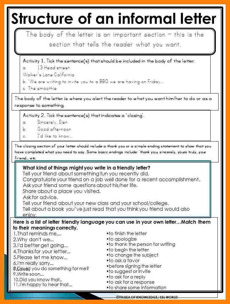 4+ informal letter writing topics for grade 7 | pattern resume