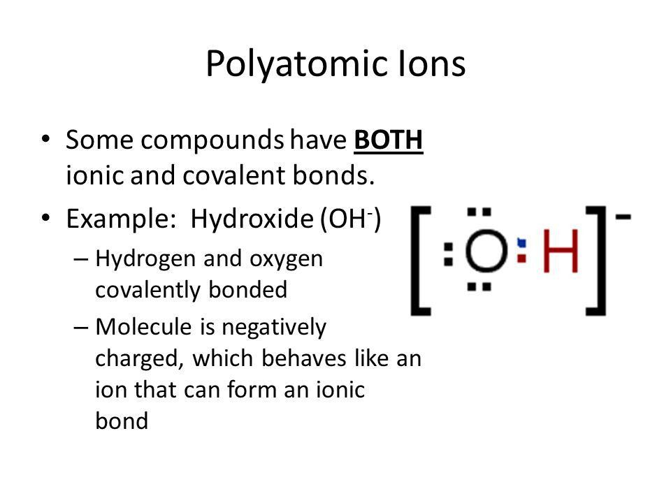 Ionic and Covalent Bonding - ppt download