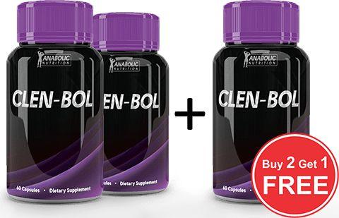 Clen-bol Buy 2 Get 1 Free – Anabolic Shop